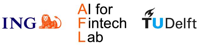 ING, AFL, and TU Delft logos